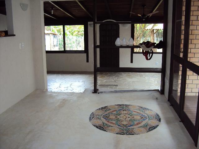 Arte mosaicos mosaico em piso de cimento queimado for Mosaico para piso
