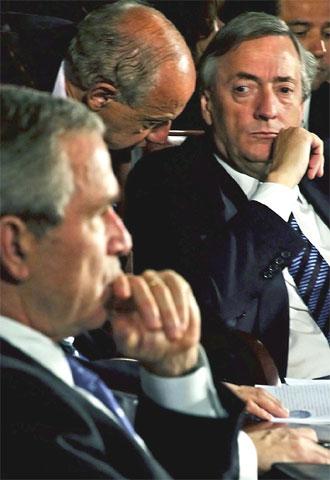 Bush, Cumbre de las Américas