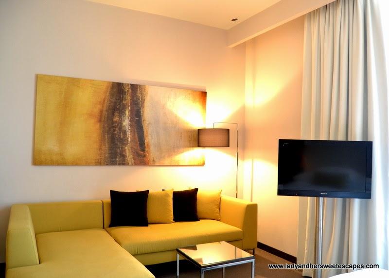 Centro Capital Centre's Compact Studio amenities
