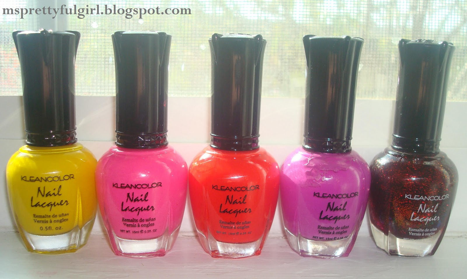 Ms. Prettyful Girl: Collection: Kleancolor Nail Lacquer