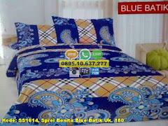 Harga Sprei Bonita Blue Batik Uk. 180 Jual