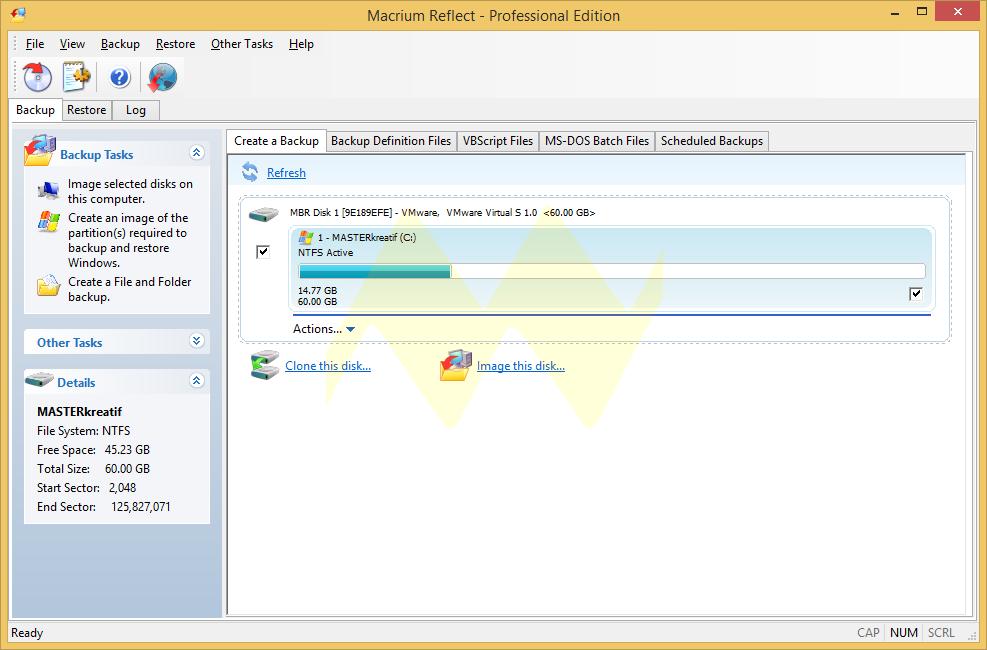 Macrium Reflect Professional 5.3