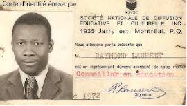 Raymond Laurrent plus de 40 ans au service de la communauté haïtienne de Montréal