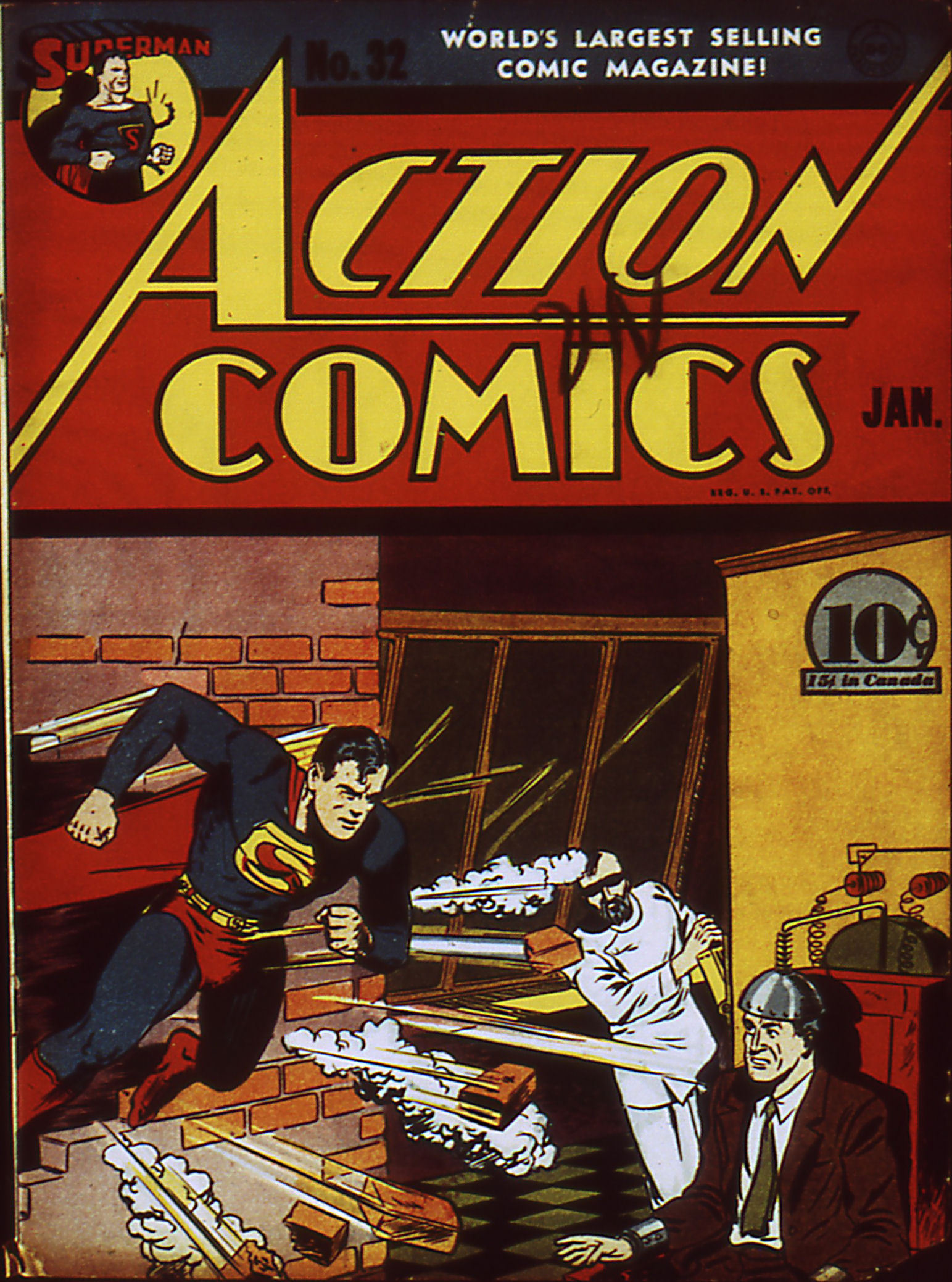 Action Comics (1938) 32 Page 1