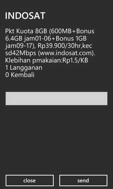 Indosat  Paket Internet 8 GB Rp 39.900