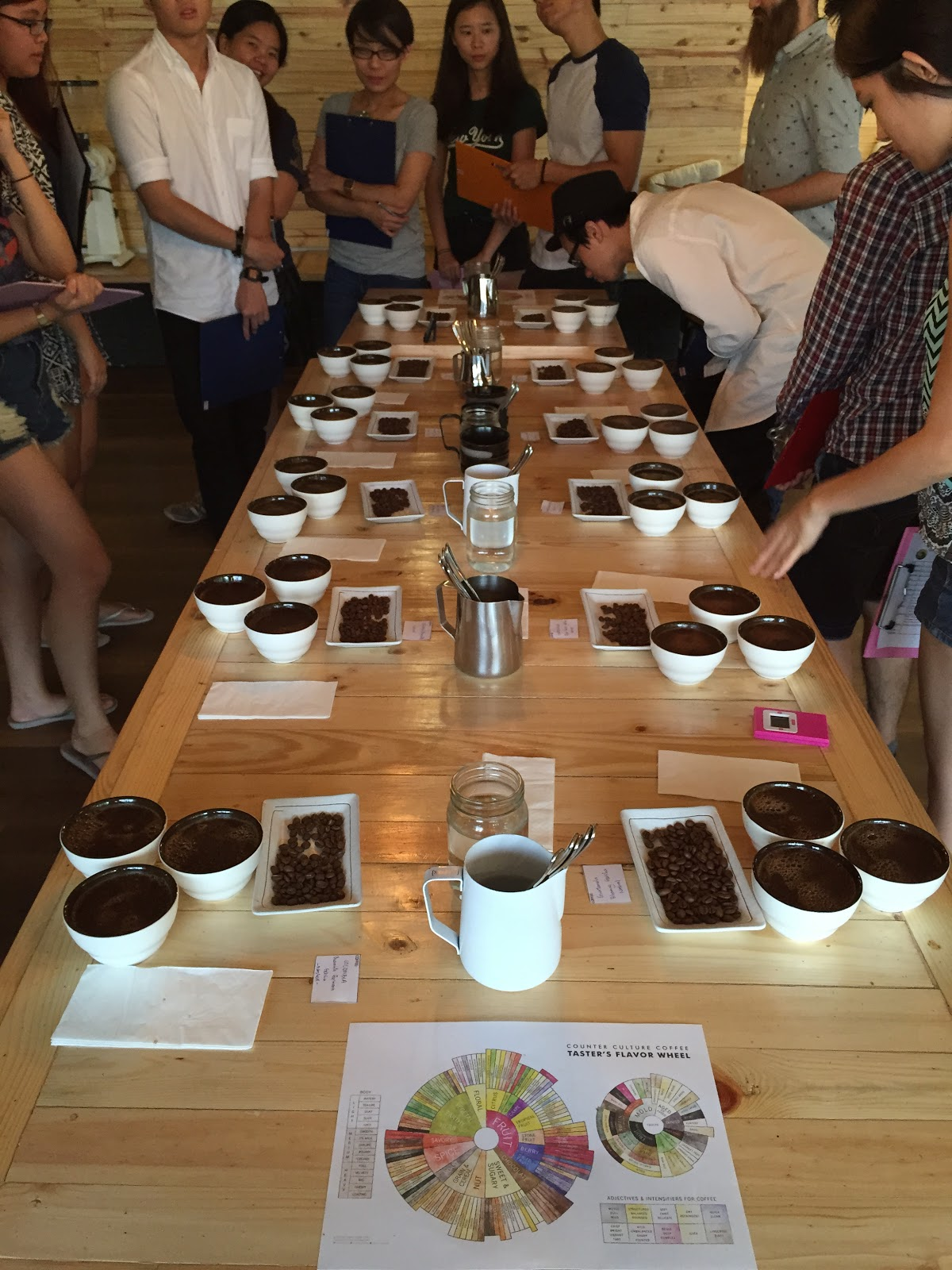 Coffee Cupping 101 by Jason Loo HoneydewPoint Blog