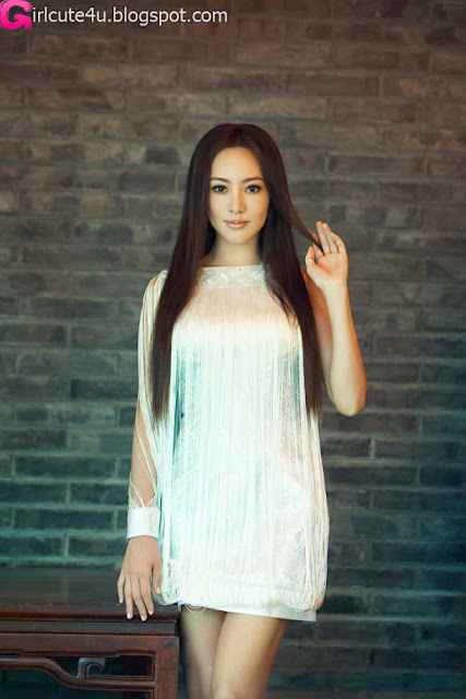 4 Janice in the beautiful dresses-very cute asian girl-girlcute4u.blogspot.com