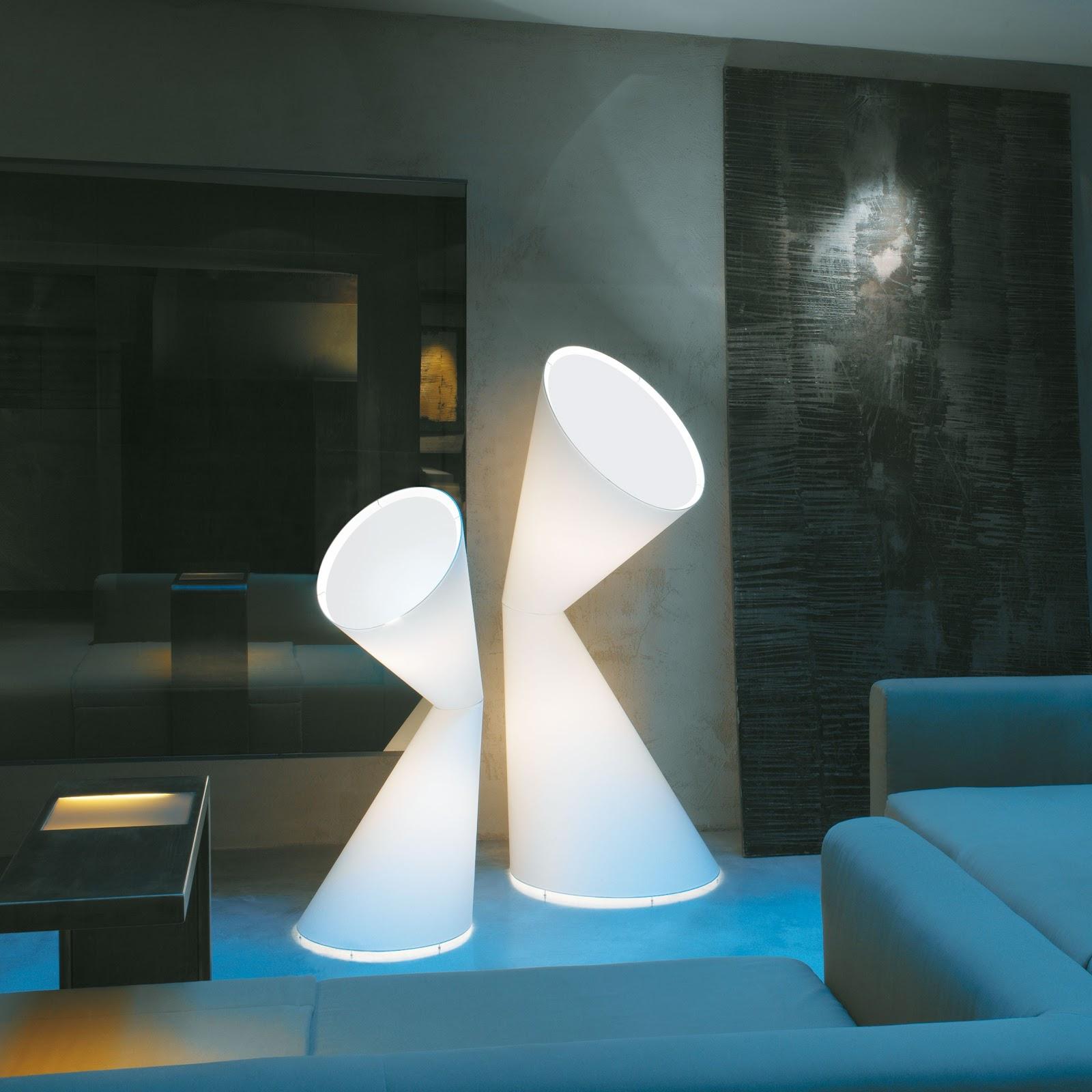 Modern interior design lala contemporary modern floor lamp lala contemporary modern floor lamp kundali la la lamp white or orange aloadofball Images