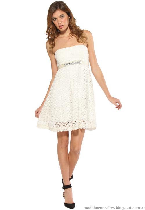 Melocoton colección verano 2014. Moda vestidos cortos 2014.