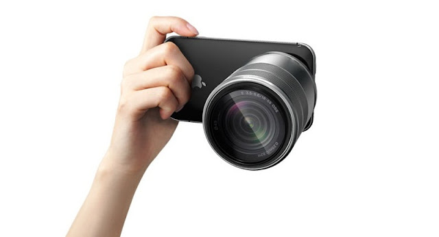 3D camera Concept iPhone PRO Front View