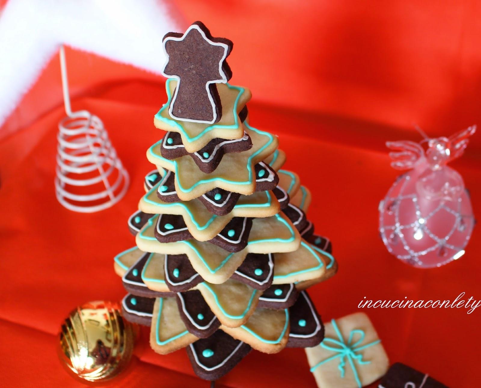 in cucina con Lety: Albero di Natale di biscotti !!!