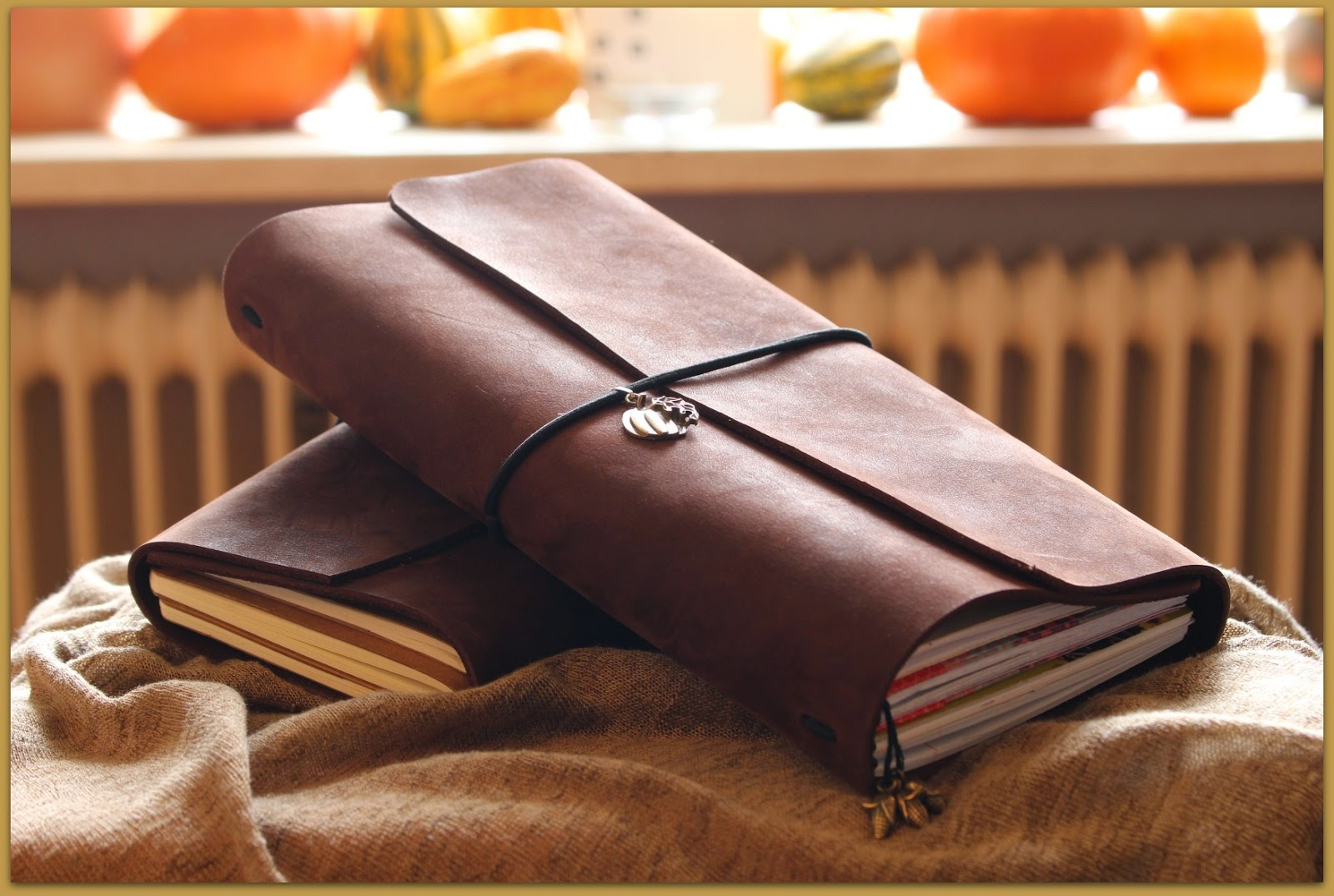 Midori fauxdori Travelers Notebook regular size and A6