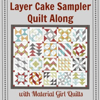layer cake sampler quilt along