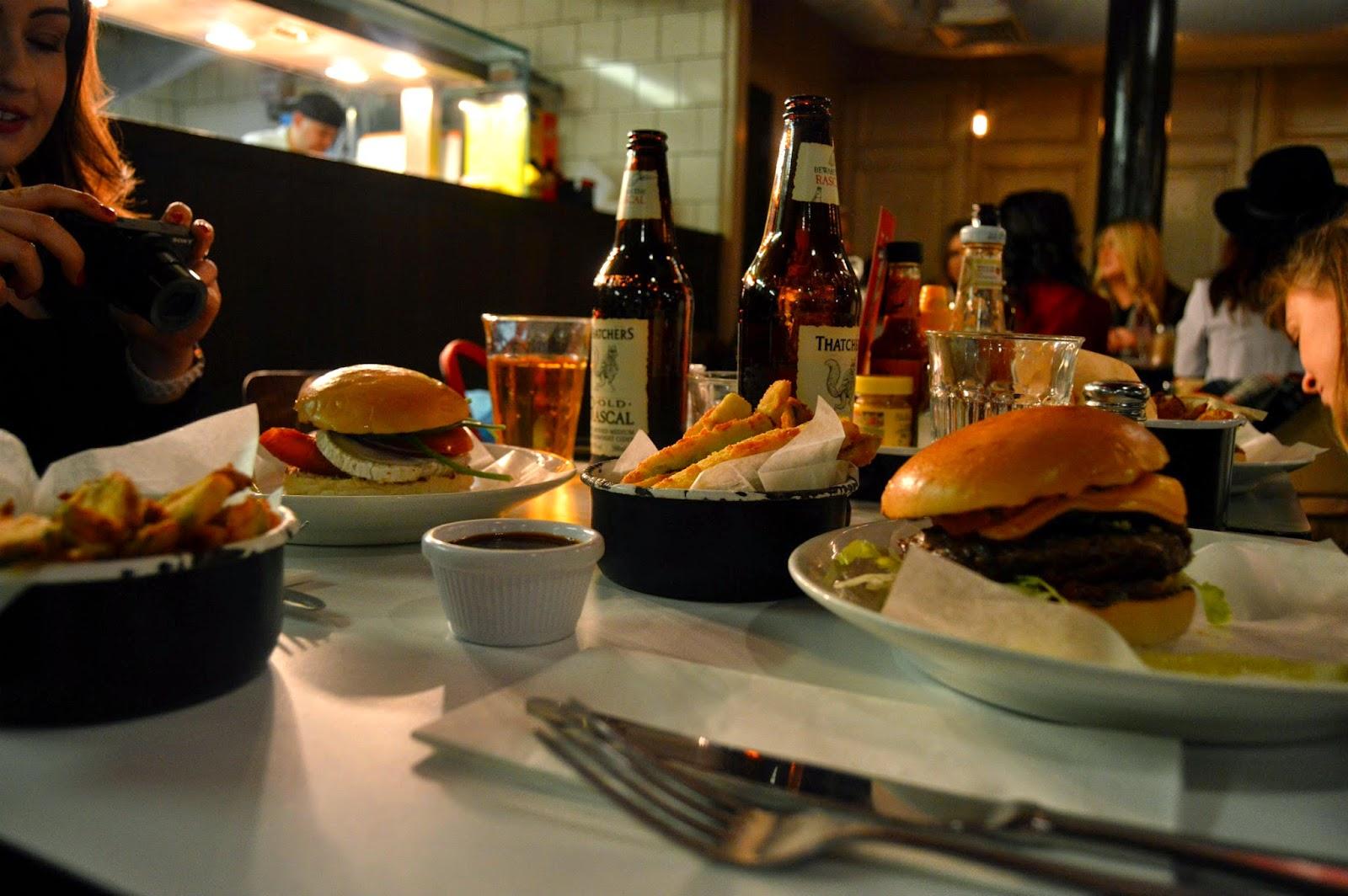 Byron burgers after #nyLDNmeet