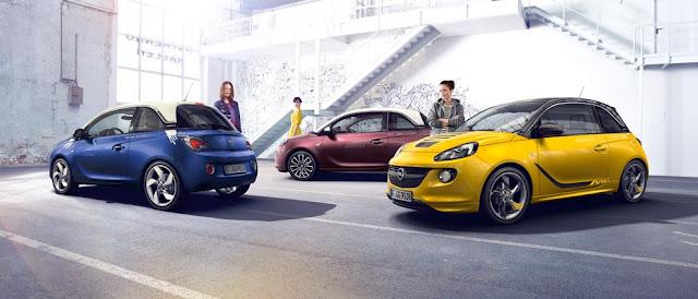 Opel Adam lineup
