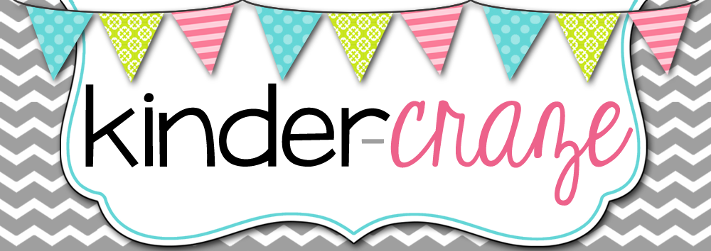 Kinder-Craze: A Kindergarten Teaching Blog