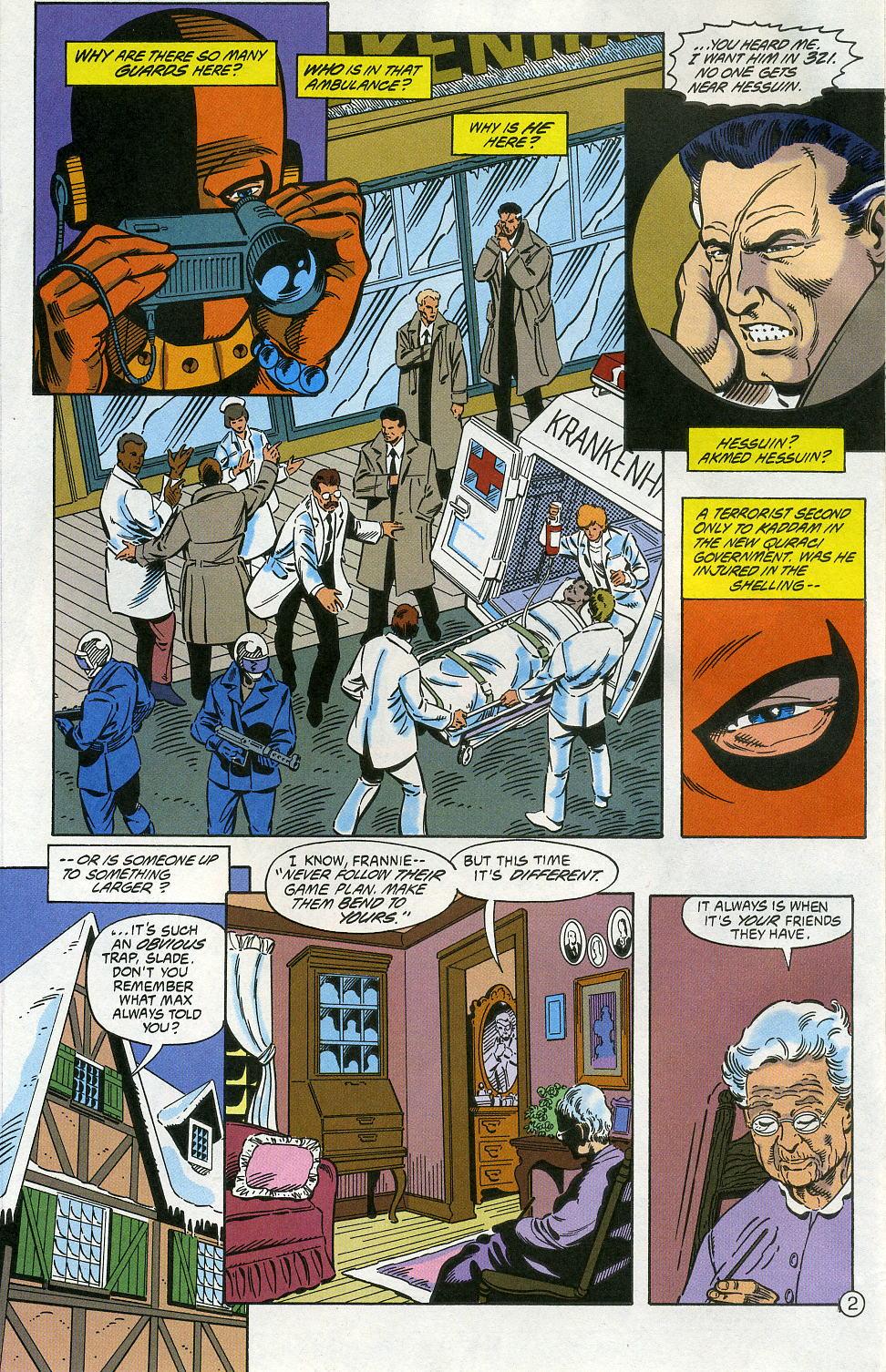 Deathstroke (1991) Issue #5 #10 - English 4