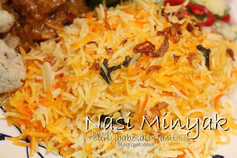 Cara Masak Nasi Minyak http://curlybabesatisfaction.blogspot.com/2013 ...