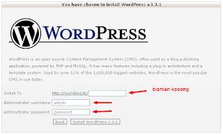 Cara Install Wordpress di Hosting Gratis