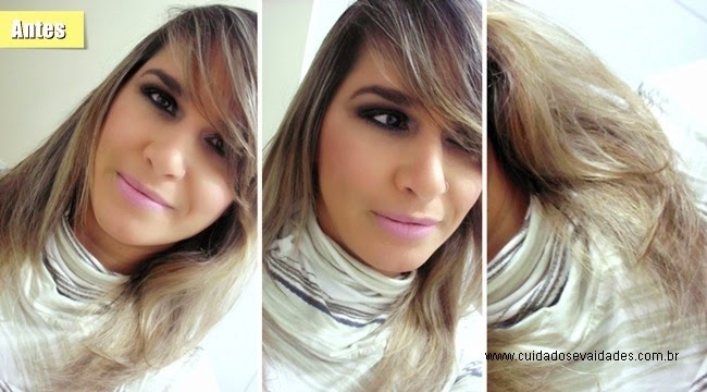 Famosos Violeta Genciana e Oxidação do cabelo loiro (antes e depois  OC73