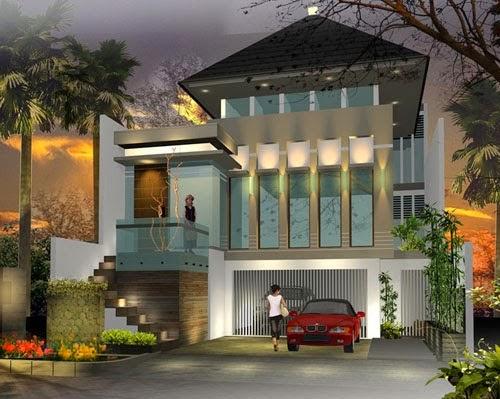 Rumah Minimalis Mewah Indah