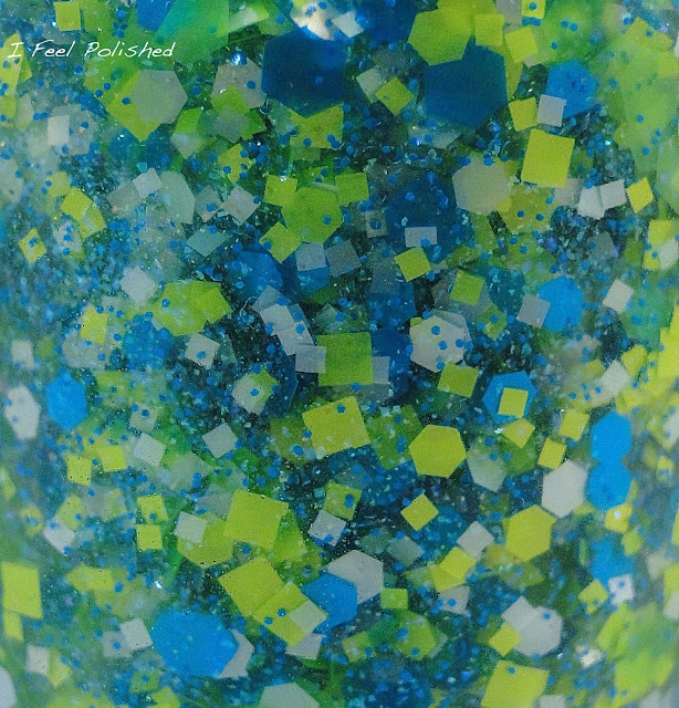 You Polish Blue in Green