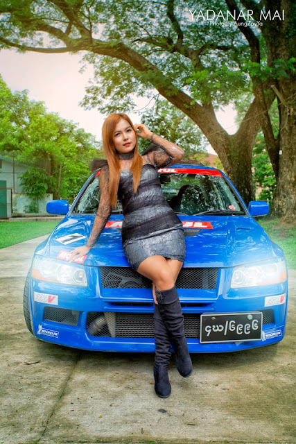famous cute singer yadanar mai
