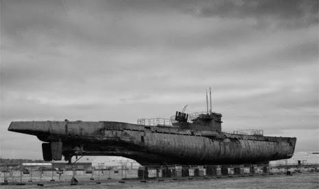Ini Dia Foto-foto Terbaru Bingkai Kapal Selam NAZI Jerman