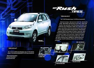 new rush tipe g