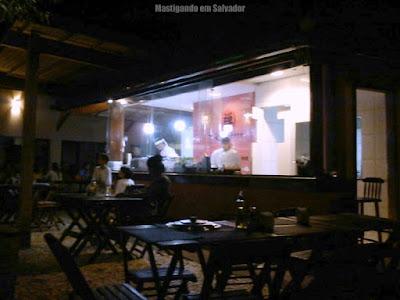 Zem Paulistano Sushi Bar: Ambiente de trabalho dos sushimen