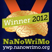 NaNoWriMo 2012 Young Writer Award