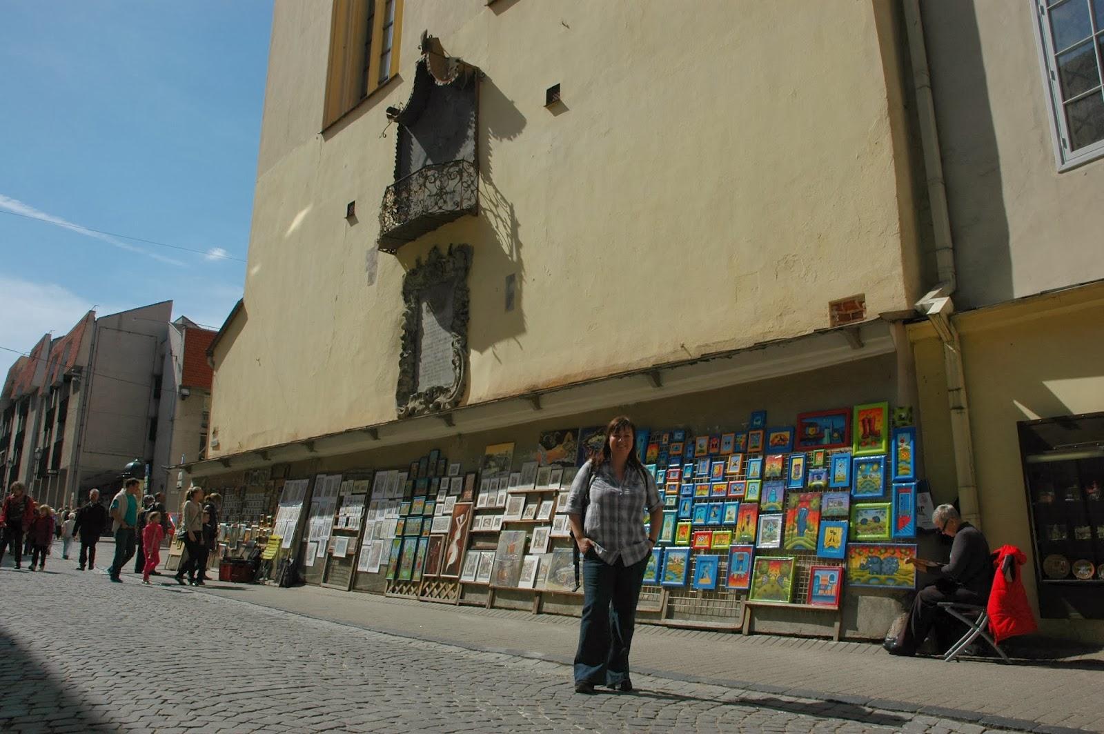 ulica Zamkowa w Wilnie