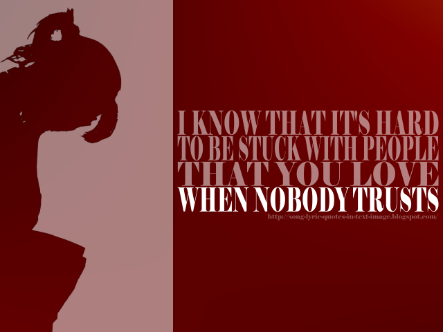 Darlin - Avril Lavigne Song Lyric Quote in Text Image