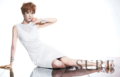 Park Jung Ah - Sure Magazine July Issue 2013
