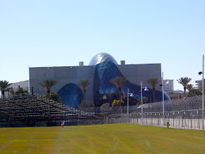 The Dali Museum is inside the racetrack!  St. Pete goes all out!