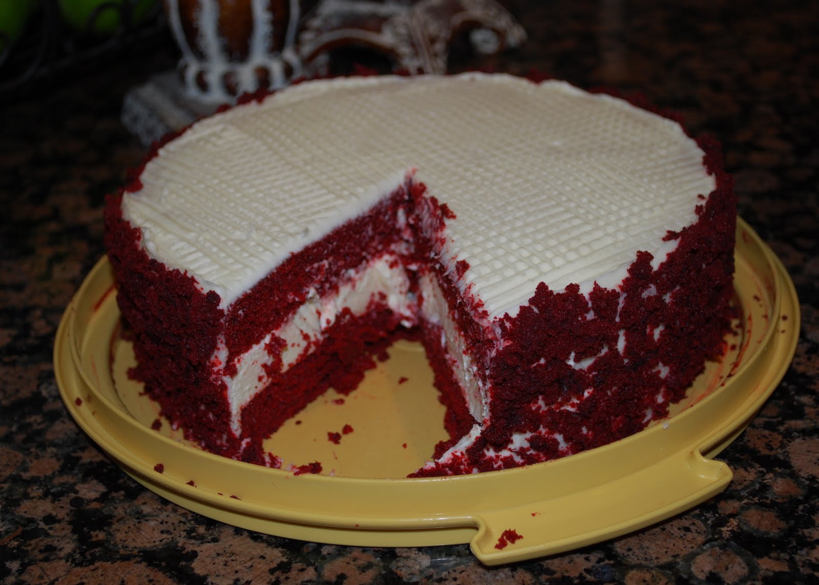 Becky's Recipes: Red Velvet Cheesecake