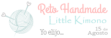Reto 'Handmade' de Little Kimono hasta el 15 de agosto