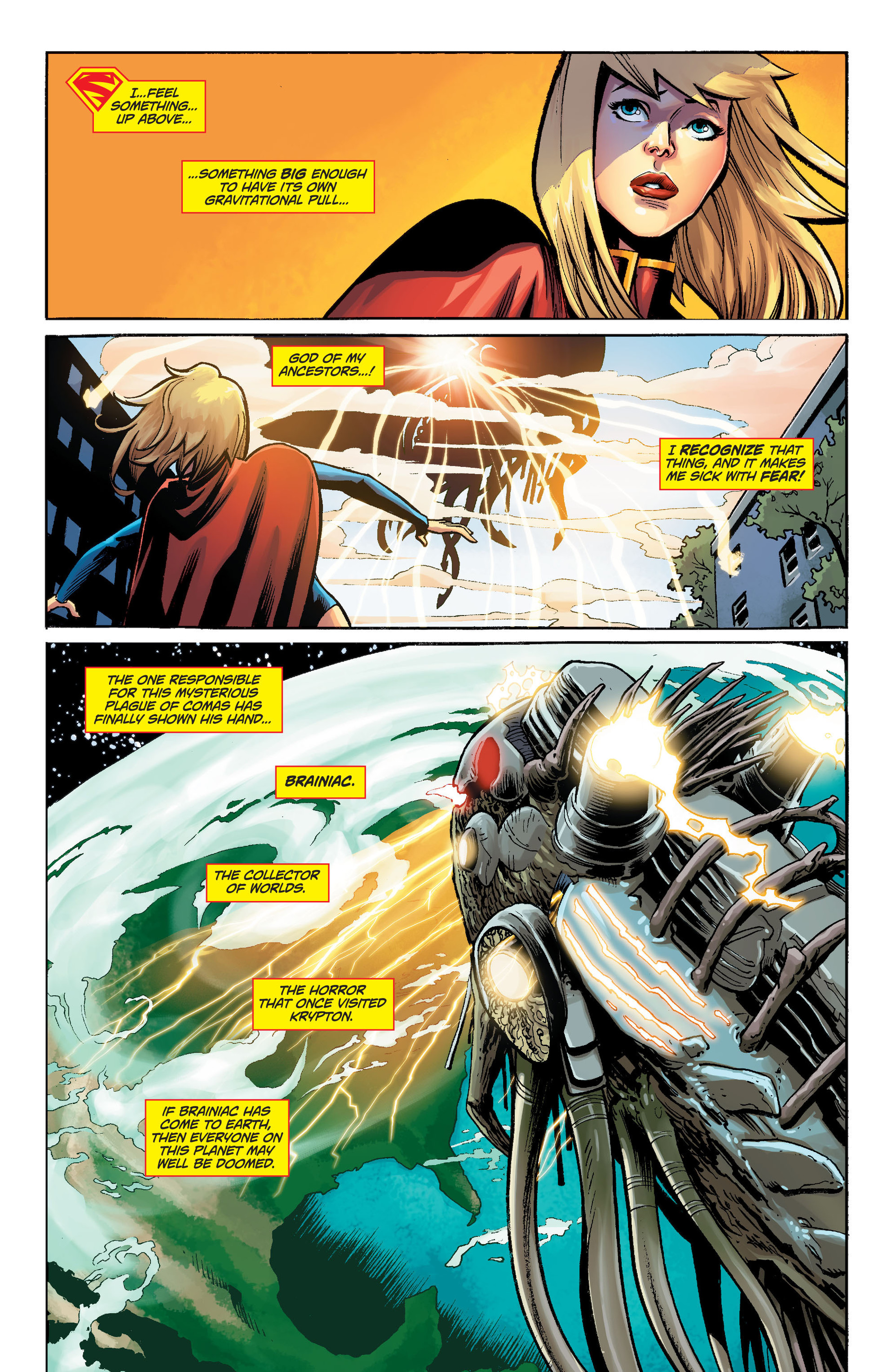 Supergirl (2011) Issue #34 #36 - English 20