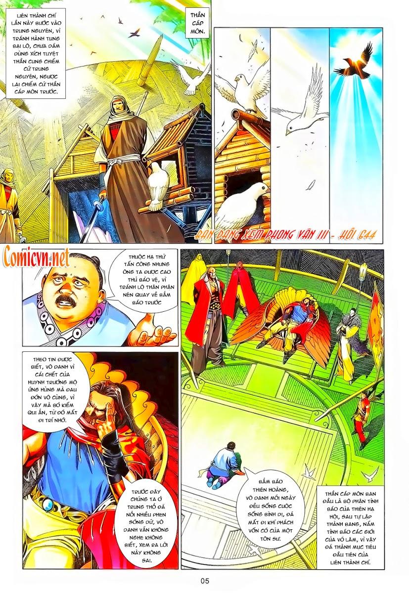 Phong Vân chap 644 Trang 6 - Mangak.info