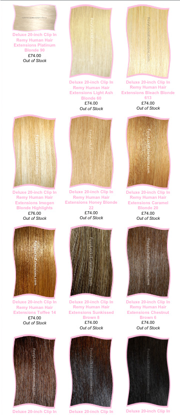 Foxy lady beauty foxy locks clip in hair extensions review these extensions come in 14 different colors pmusecretfo Image collections