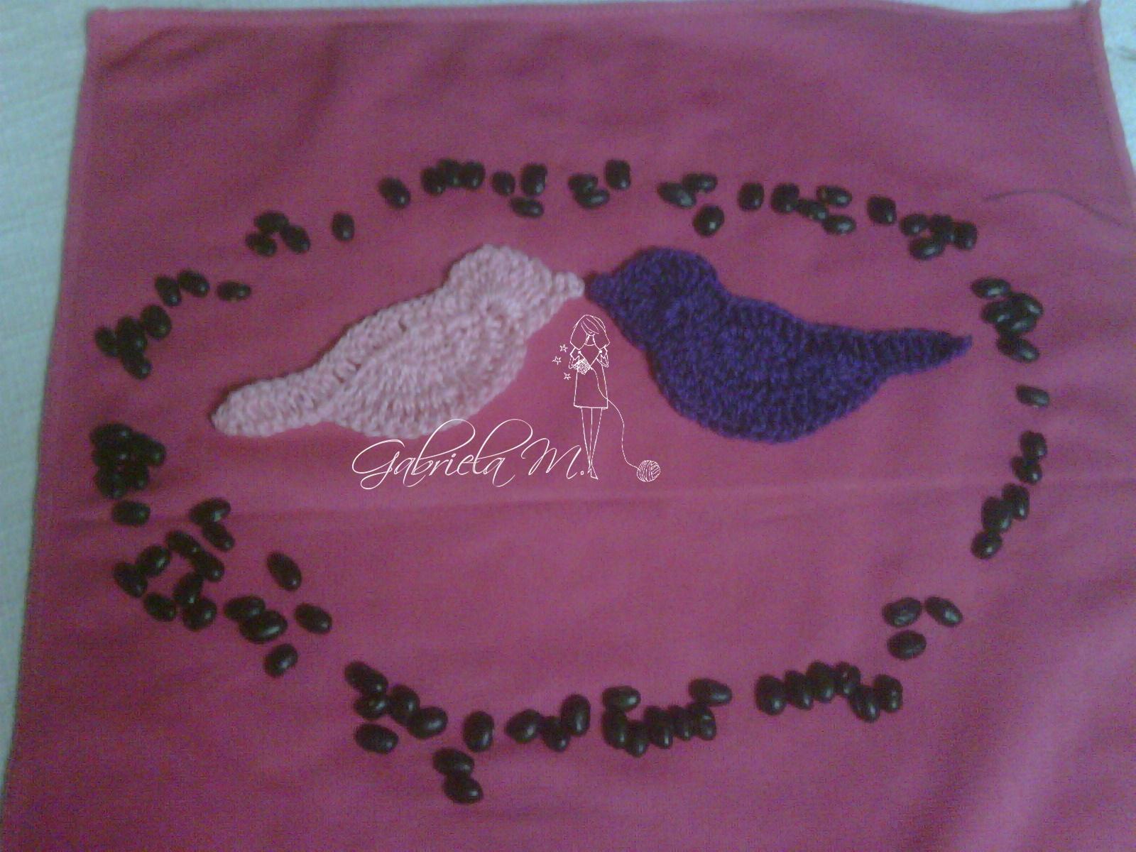 Delicadezas en crochet Gabriela: Apliques aves crochet