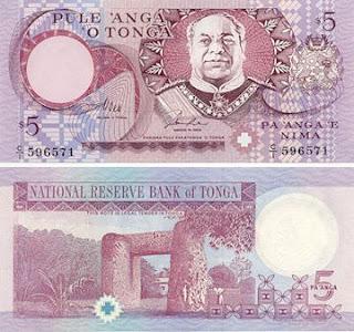 dinheiro de tonga