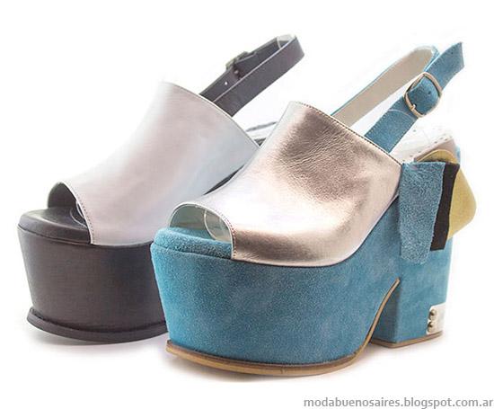 Sandalias 2015 Lola Roca. Moda calzado femenino verano 2015.