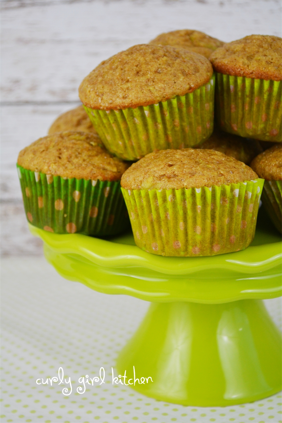 Zucchini Muffins | oursongfortoday