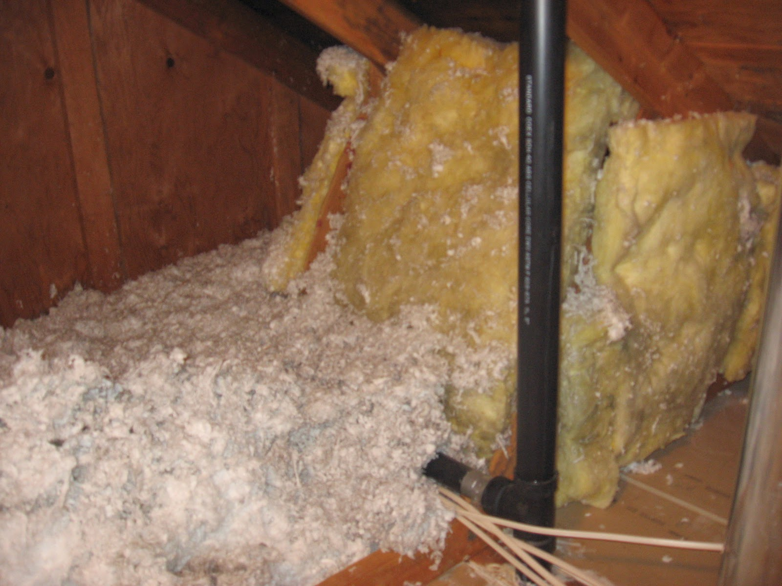 Energy conservation how to a skylight insulated r30 for Thickness of batt insulation