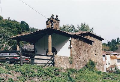 Capilla de San Clemente de Cortina, Turón, Mieres