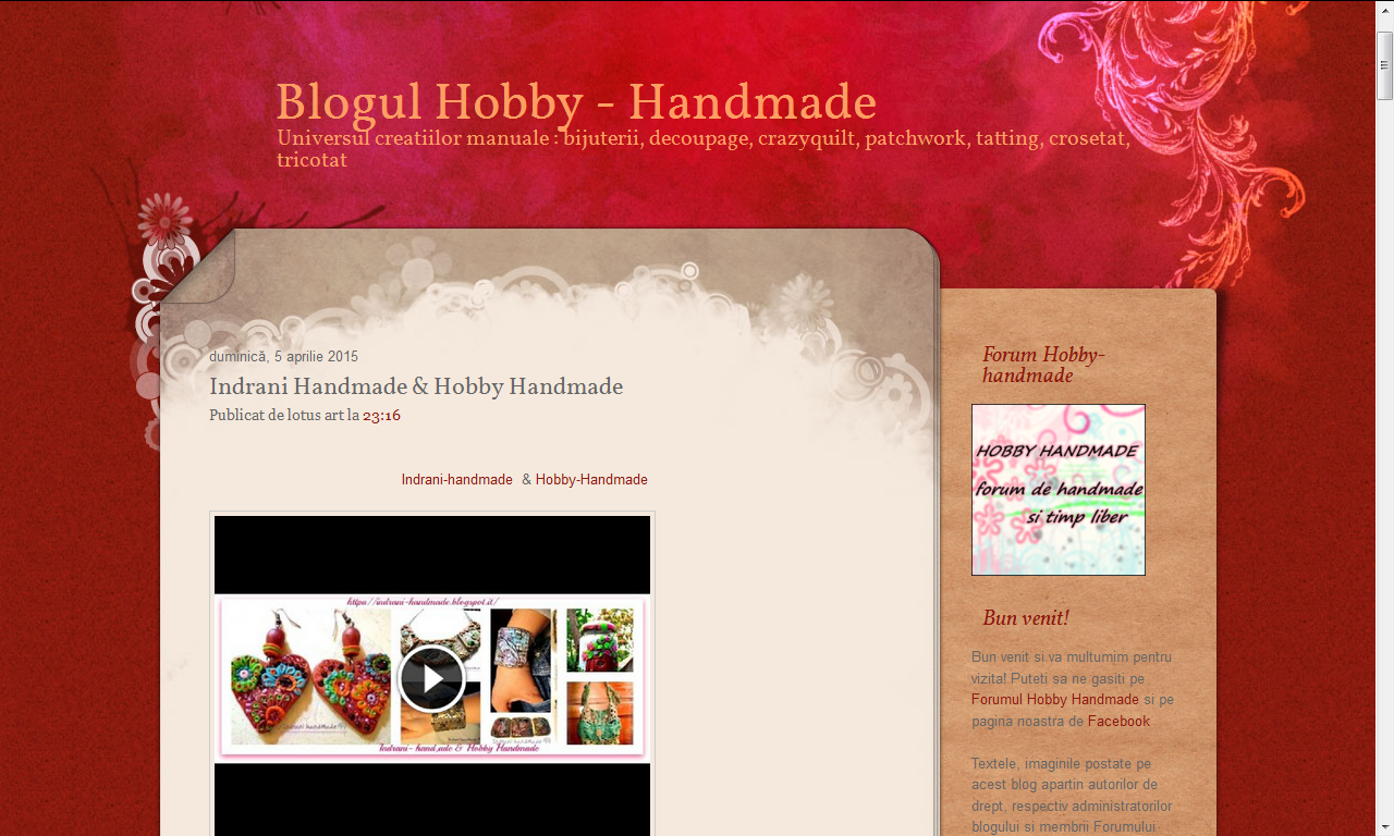 http://hobby-handmade.blogspot.it/2015/04/indrani-handmade-hobby-handmade.html