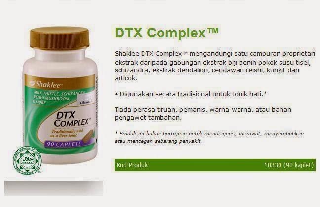 DTX Complex - Suplemen untuk mencuci hati