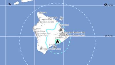 SISMO 5,3 GRADOS SACUDE LA ISLA GRANDE DE HAWAII 28 DE JUNIO 2015