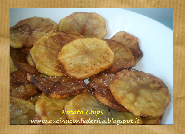 potato chips - patatine chips